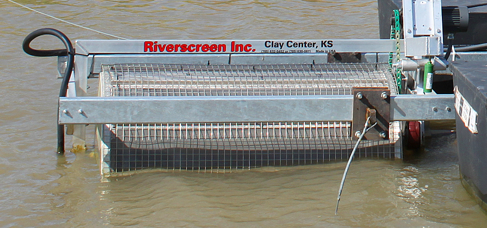 Self Cleaning Screen : Self cleaning screens pump suction strainers riverscreen